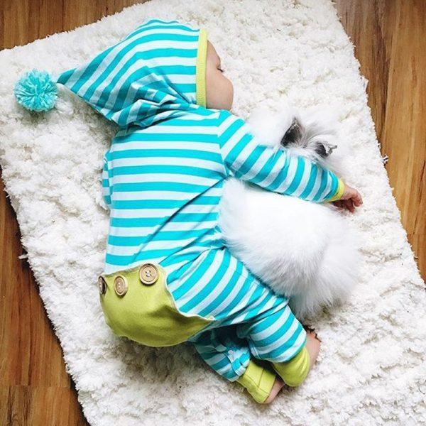 Salopeta Baby Smurf