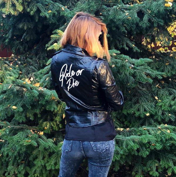 ride or die jacket